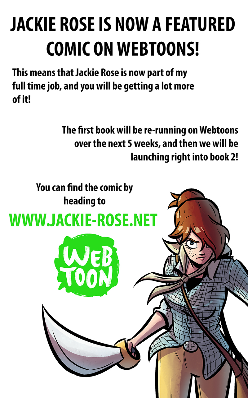 Jackie Rose Featured on Webtoons!